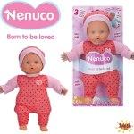 Boneco Nenuco Soft 3 funções FAMOSA
