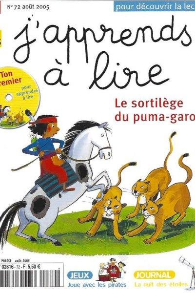 J'apprends à lire: Le sortilège du Puma-garou