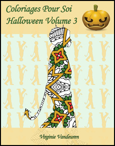 Coloriages Pour Soi - Halloween - Volume 3