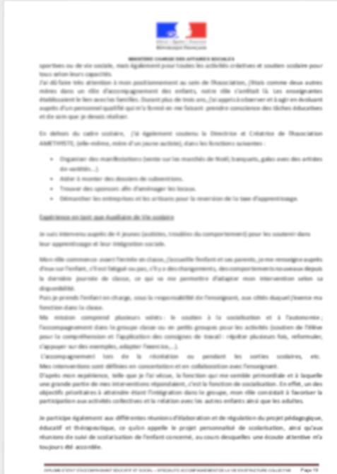 Livret 2 VAE DEAES Diplôme d'Etat Accompagnant Educatif et ...