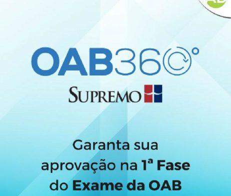 Curso OAB 360 supremo tv palestras