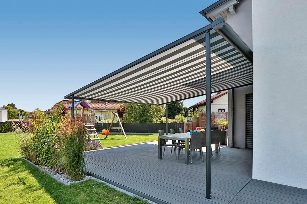 Der Moderne Sonnenschutz Auf Der Terrasse LIVVI DE