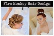 fire monkey hair design