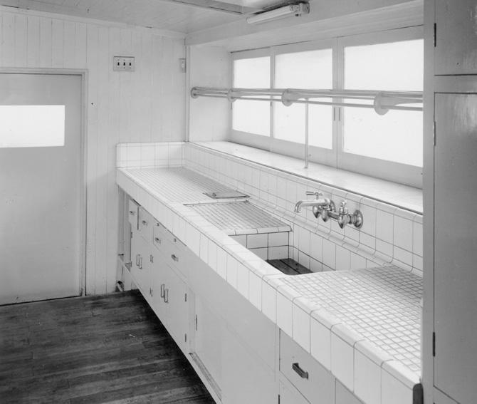 kitchen island stove expandable table 开放式厨房 开放式交流 我们的故事 骊住 20 世纪50 年代的开放式厨房 c 骊住博物馆