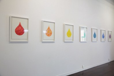 Rainbow Colours (Installation view)