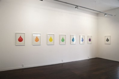 Rainbow Colours (Installation view) 2015