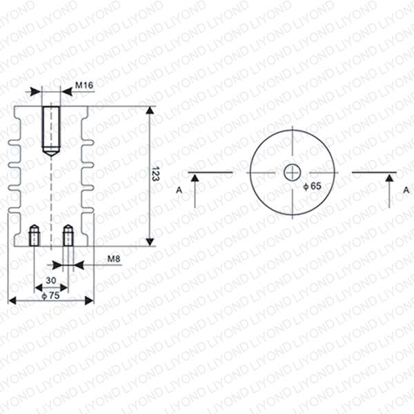 LYC101 12KV indoor switchgear epoxy resin insulator