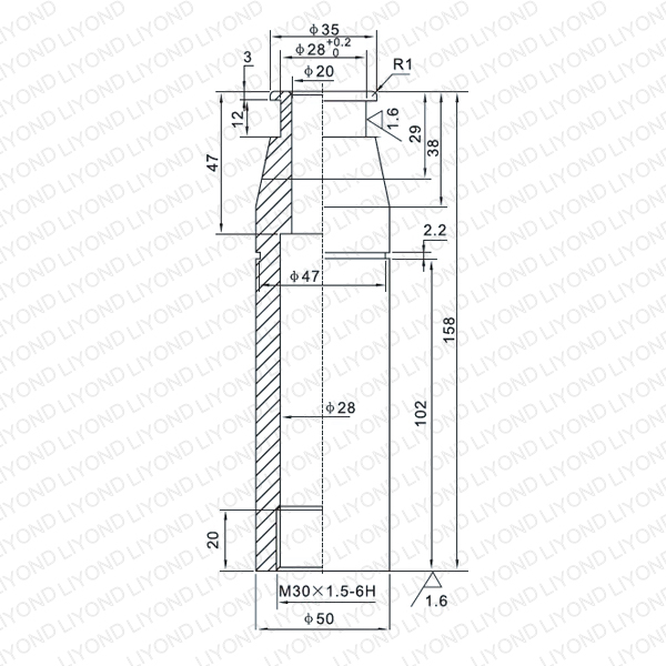 LYB009 Contact arm for VCB-Yueqing Liyond Electric Co.,Ltd
