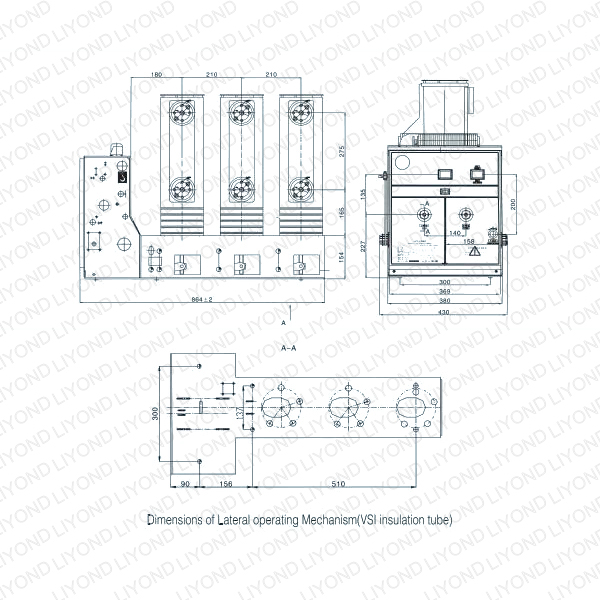 Yueqing Liyond Electric Co., Ltd. VS1/R-12 Series Indoor