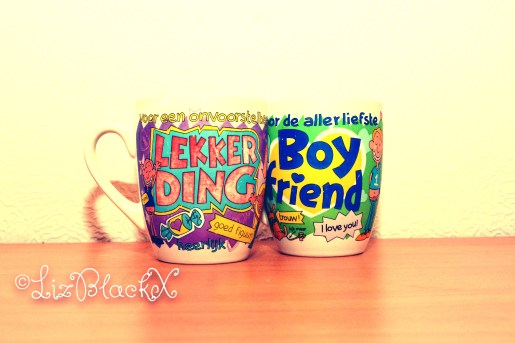 Copyright LizBlackX  Two coffee cups