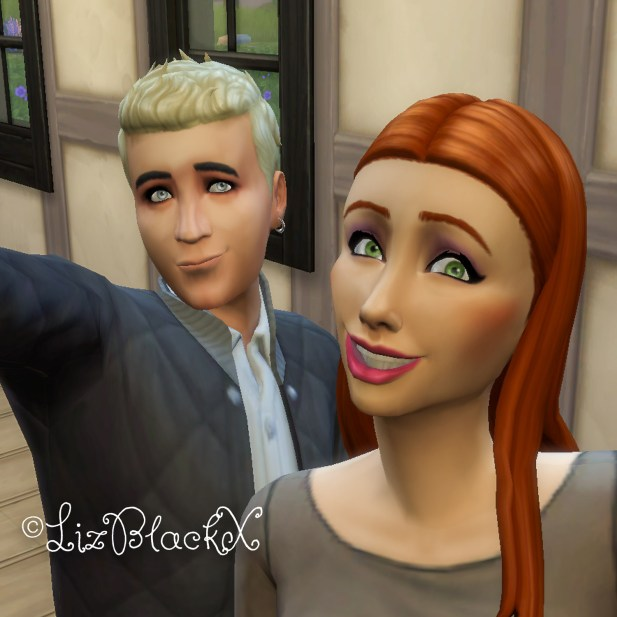 Screenshot from The Sims 4 - Wolfgang Munch  Copyright Liz BlackX