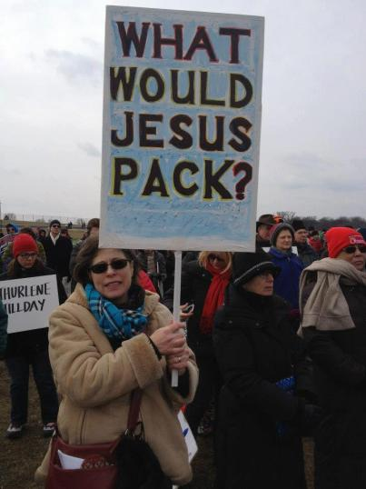 What Would Jesus Pack?