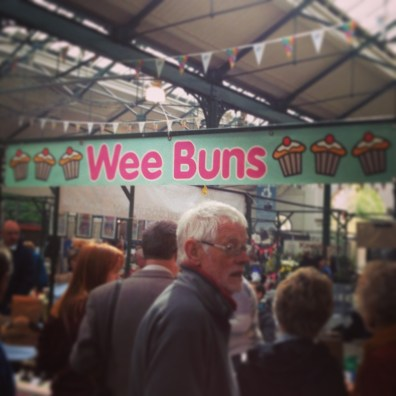 Wee Buns at St George's Market