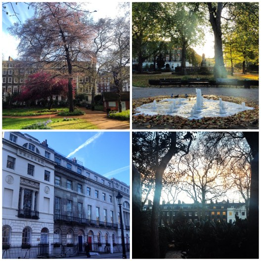 The squares of Bloomsbury & Fitzrovia