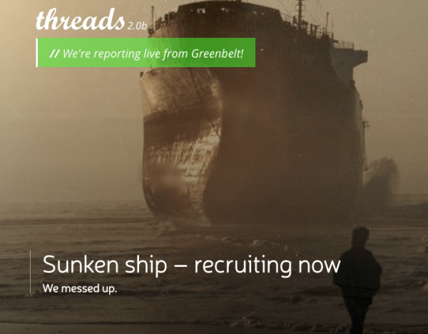 Sinking Ship Recruiting Now