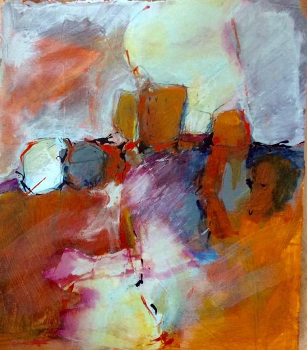 Abstract Landscape Liz Cole