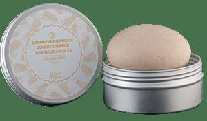 shampooing solide aux deux argiles