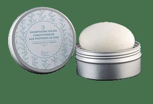 shampooing solide aux protéines de soie