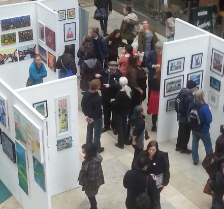 Exhibiting with Arts and Minds at the Light in Leeds