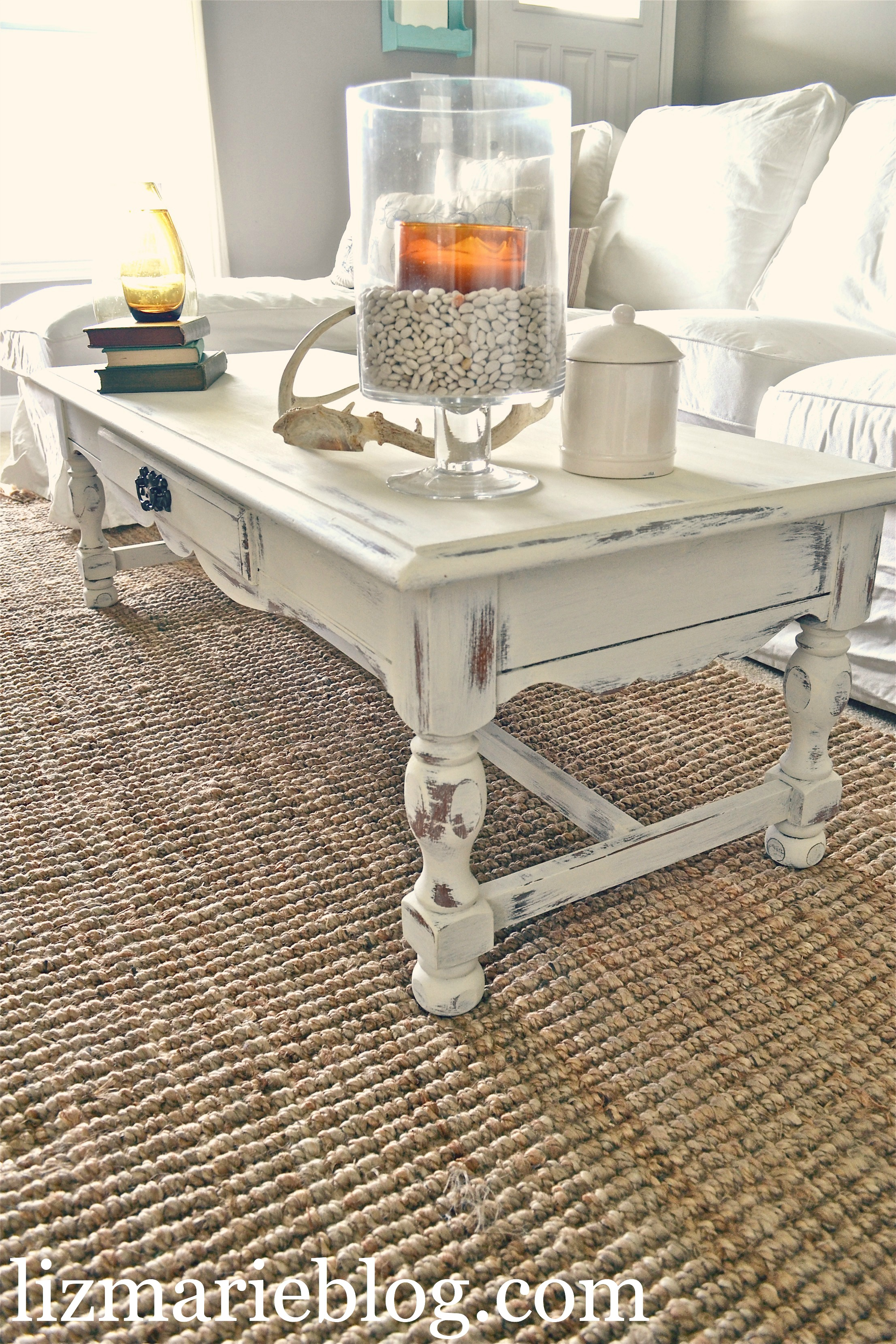Shabby Little Coffee Table Liz Marie Blog