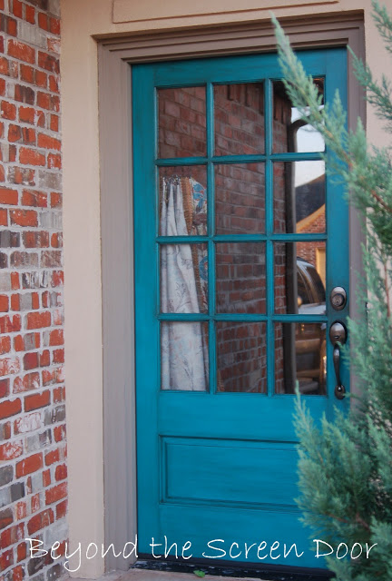Adding A Turquoise Exterior Door Is Probably One Of The Boldest Ways To Add  Turquoise To Your Home. You Could Just Paint The Exterior Or Bring