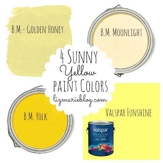 best yellow paint colors