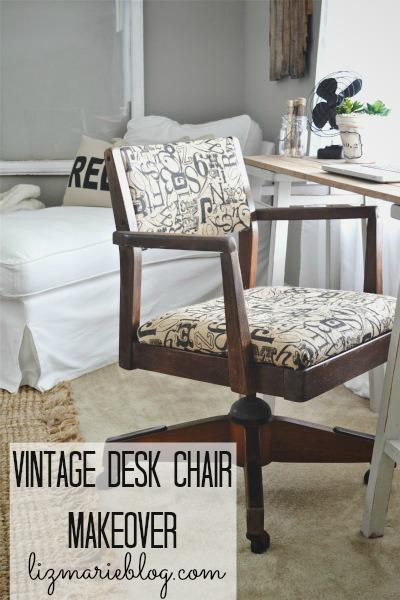 desk chair makeover