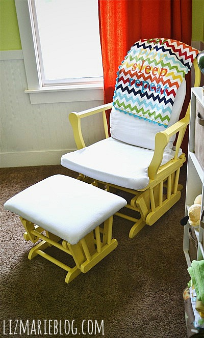 rocking chair slipcovers for nursery crate and barrel tess glider makeover