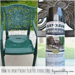 How To Paint Plastic Chairs Retro Dining Nz Furniture A Makeover Liz Marie Blog Picmonkey Collage