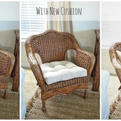Pier One Rattan Chair Folding Amazon India Thrifted Wicker Liz Marie Blog