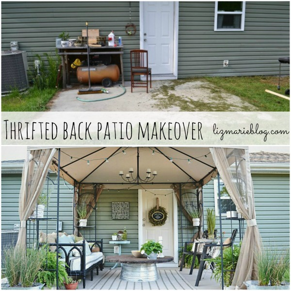 Delicieux Back Patio Makeover Full Reveal U0026 Source List