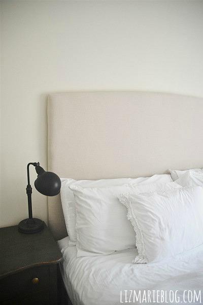 DIY Upholstered Headboard- Video Tutorial - Liz Marie Blog