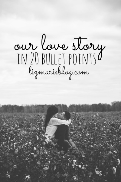 how to write our love story