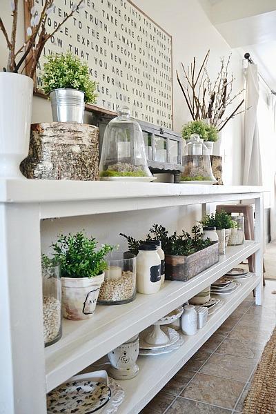 DIY Dining Room Buffet - Liz Marie Blog