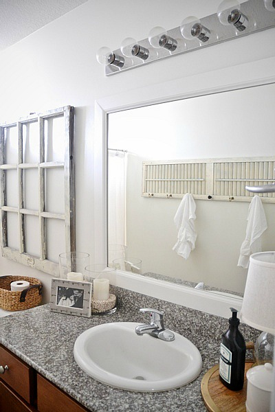 DIY Framed Bathroom Mirrors   THE EASY WAY!! See How To Frame Your Bathroom