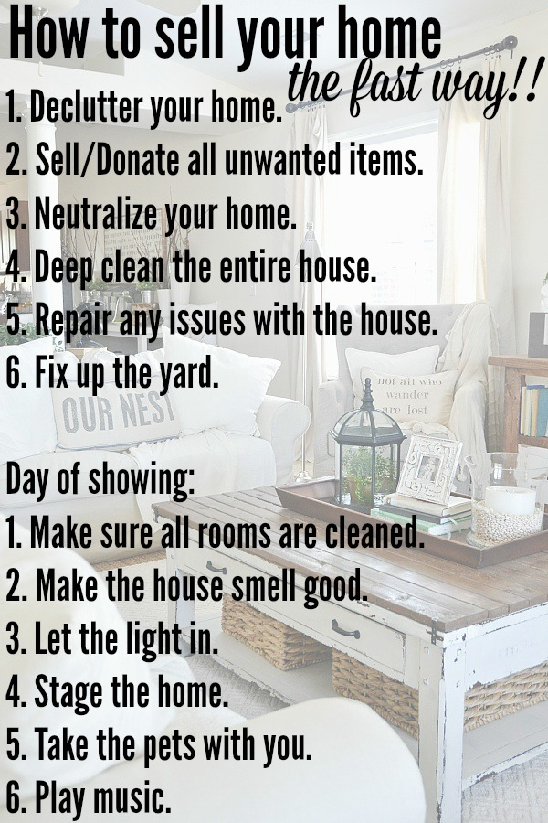 Sell your house with these 12 tips