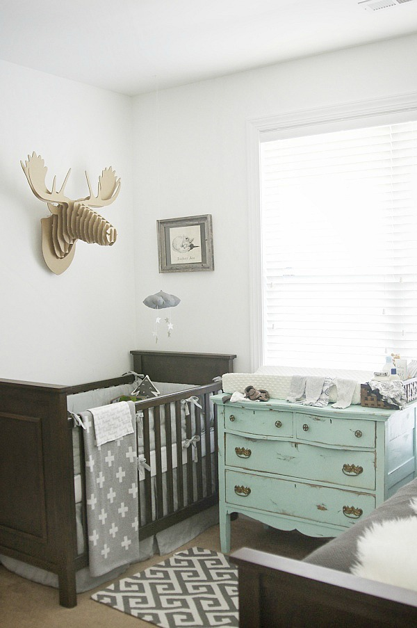 Our Little Baby Boy S Neutral Room: Gray Nursery Reveal