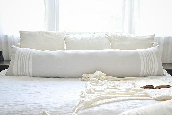 DIY Extra Long Lumbar Pillow Liz Marie Blog Mesmerizing Extra Long Decorative Lumbar Pillow