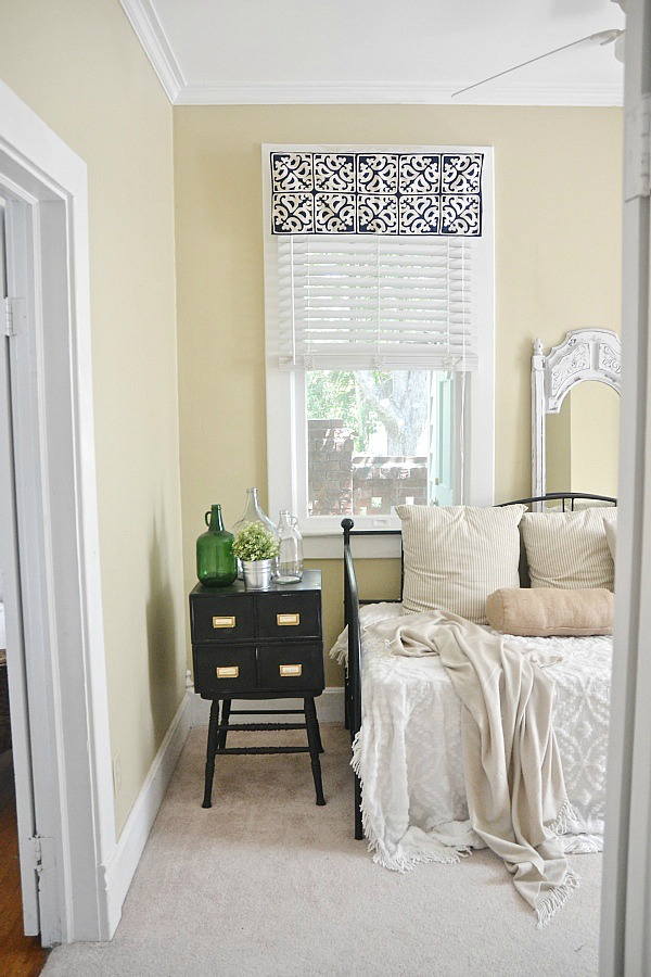 Simple Valances For Windows : Diy easy window valance no sew liz marie