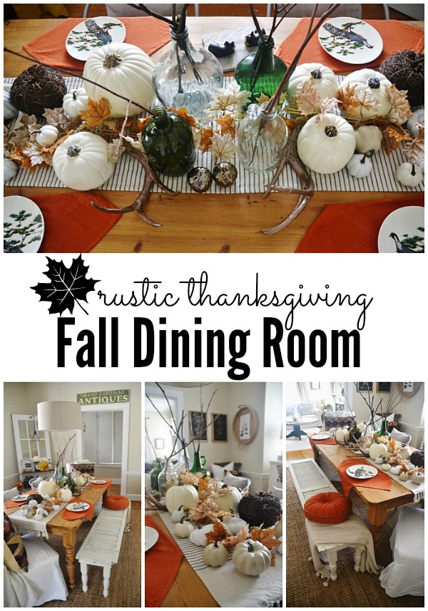 Rustic thanksgiving fall dining room lmb rental liz
