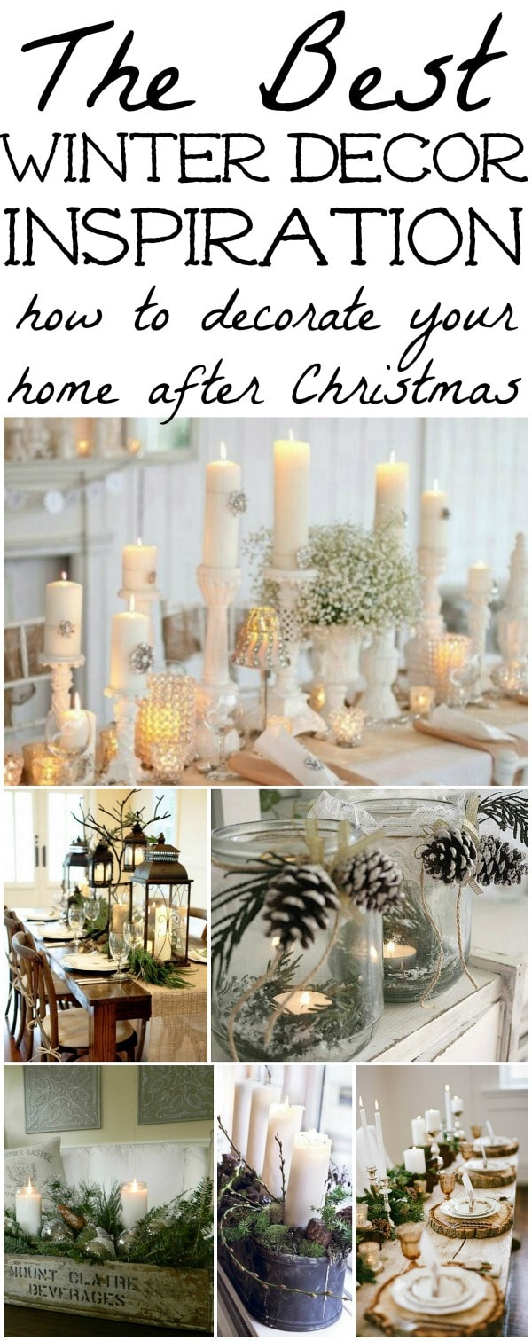 Winter Decorations - Winter Table Ideas & More! - Liz Marie Blog
