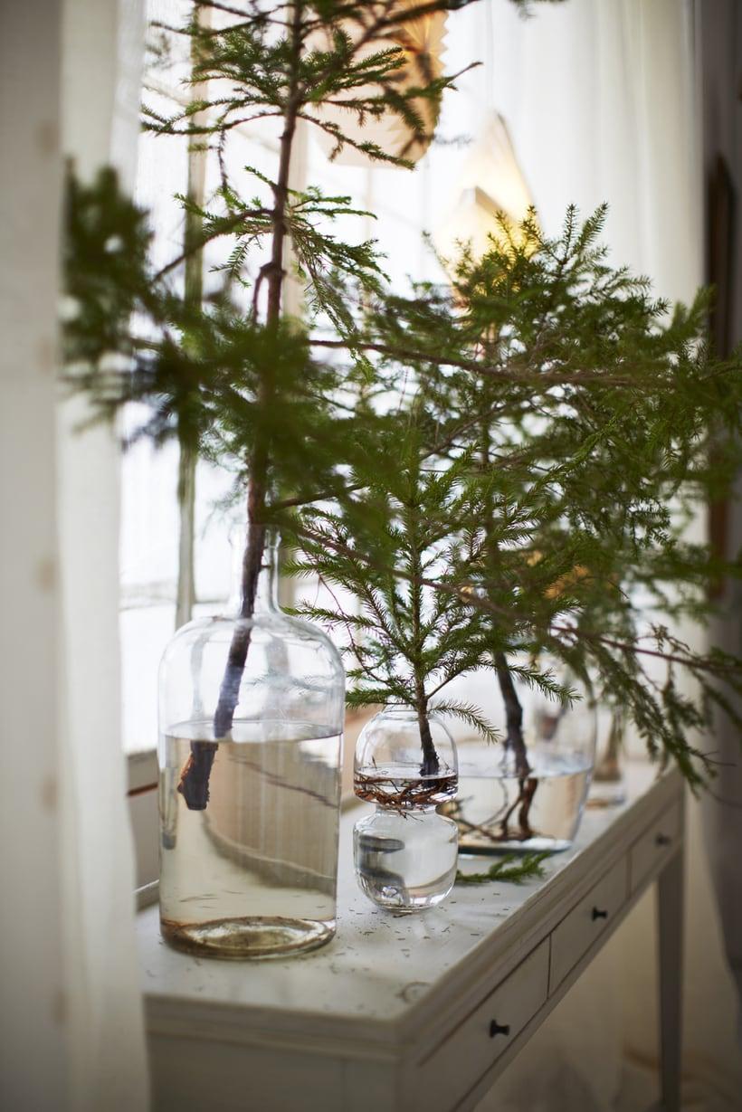 winter decorations winter table ideas more liz marie blog. Black Bedroom Furniture Sets. Home Design Ideas