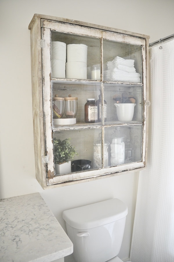 diy antique window cabinet see how to make this super easy antique window cabinet