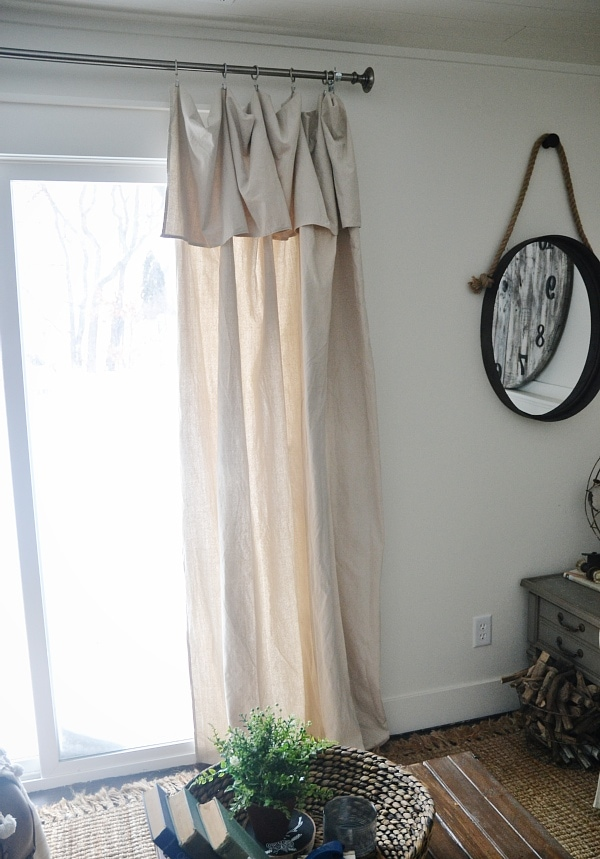 New Curtains Amp Some Diy No Sew Curtains Liz Marie Blog