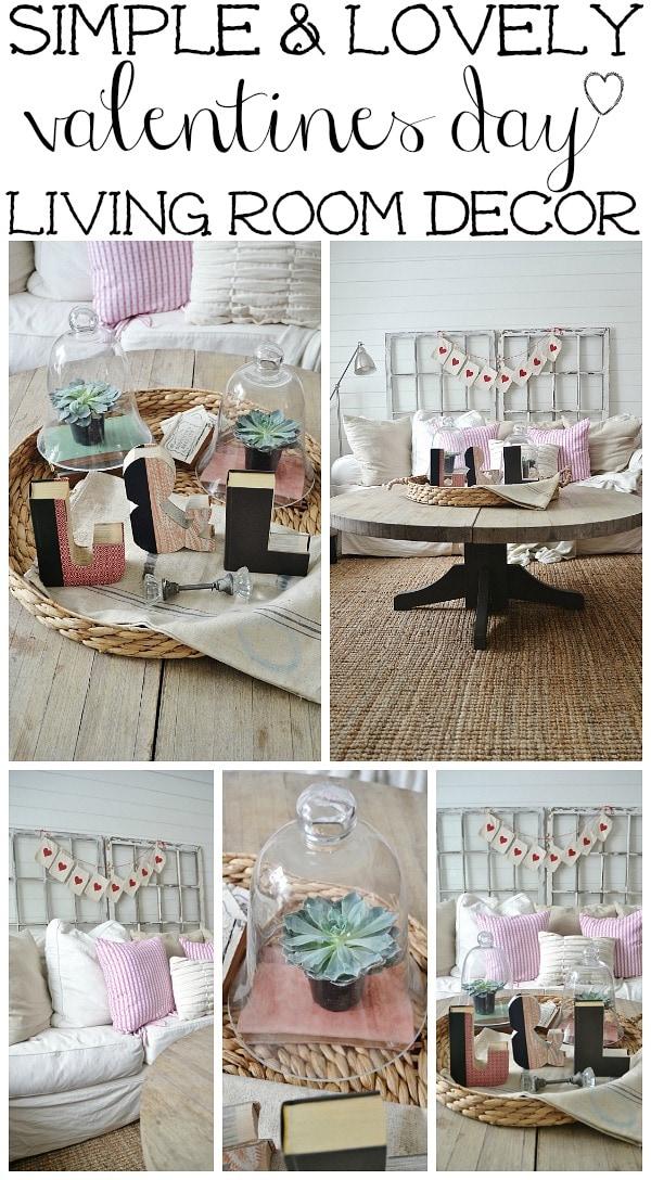 Stunning Living Room Valentine Decor Pictures - Image design house ...