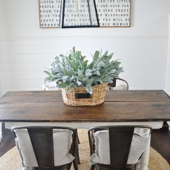 Metal Farmhouse Chairs Garden Swing Chair John Lewis New Rustic And Wood Dining Liz Marie Blog With A Table