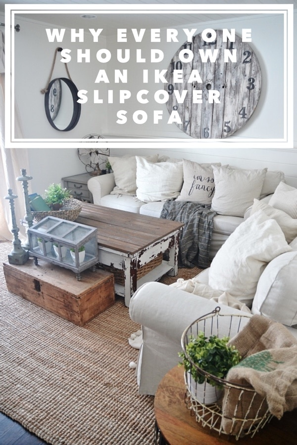 ikea slipcover sofa review honest opinions 3 years later liz marie blog. Black Bedroom Furniture Sets. Home Design Ideas