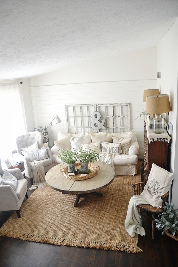 Living Room Jute Rug jute rug review - an honest review after three years - liz marie blog