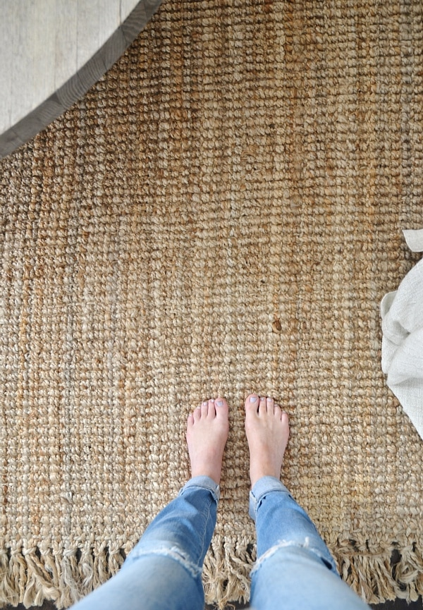 Jute Rug Review An Honest Review After Three Years Liz