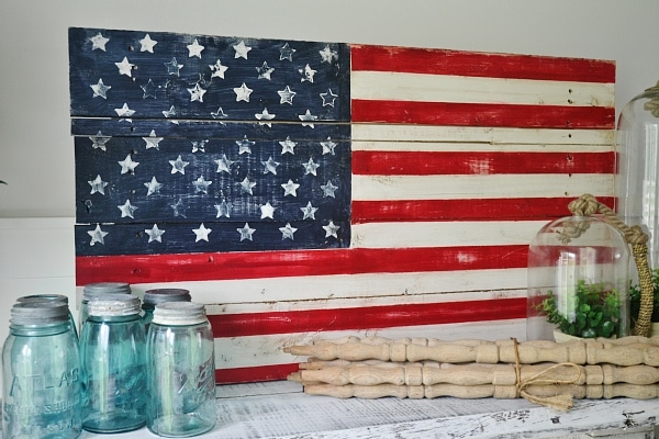 diy wood pallet american flag so easy to make great for home decor